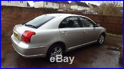 Toyota Avensis 2.0 D4D 2005 5 DR Hatchback Silver 73650 Miles only