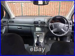 Toyota Avensis 2.0D-4D TR Hatchback 5 Doors. Diesel. Manual. FSH. SAT NAV