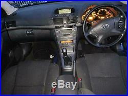 Toyota Avensis 2.2 D-4D T3-X 4 Door DIESEL MANUAL 2006/56