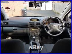 Toyota Avensis D4D Diesel 5 door 12 months MOT Two keys