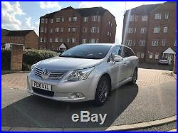 Toyota Avensis Diesel Estate T4 D4d, 2010 Plate, 92000 Miles, Fully Loaded