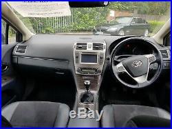 Toyota Avensis Estate 2012 MK 4 2.0L D-4D T4 5 door Silver