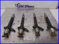 Toyota Avensis Mk2 2.0 D4D 07-09 Rav-4 Set 4x Diesel Fuel Injectors 23670-0R030