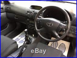 Toyota Avensis T3-s 2005 Estate 2.0 D4d Manual No Reserve Auction Long Mot