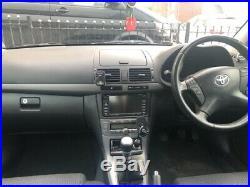 Toyota Avensis TR D-4D Black 115,000 Miles Sat Nav