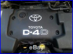 Toyota Corolla Avensis Verso 2.0 D4d 1cd Ftv Engine + Pump + Injectors