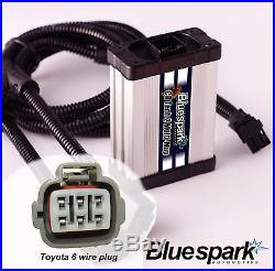 Toyota Hilux Avensis RAV4 Hiace 6 Pin D-4D Diesel Chip Box Tuning
