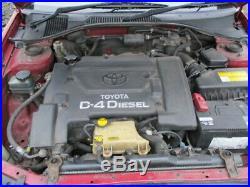 Toyota avensis 2.0 D4D T22 engine + bare 97 03 1CD-FTV