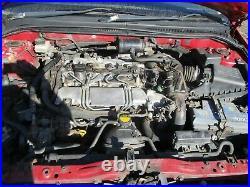 Toyota avensis 2.0 D4D T25 engine complete 03 06 1CD-FTV