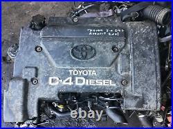 Toyota avensis 2.0 d4d 2001 engine