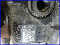 Toyota rav4 fuel pump 2.2 d4d 2000 2009 22100-0r020 avensis auris dcat