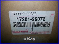 Turbolader Neu Original Toyota 2,2 D-4D / 2AD-FTV Toyota Avensis Auris Verso